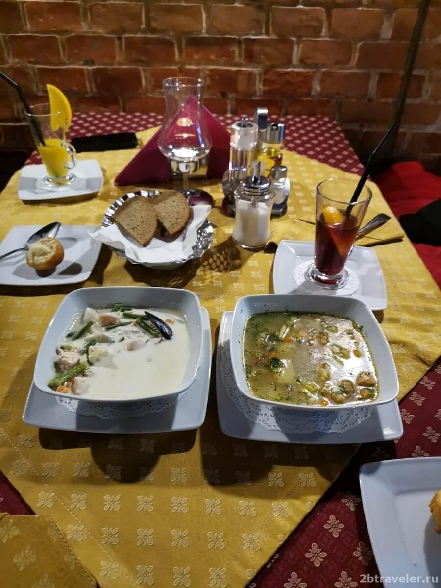 Блюда калининградской кухни традиционные