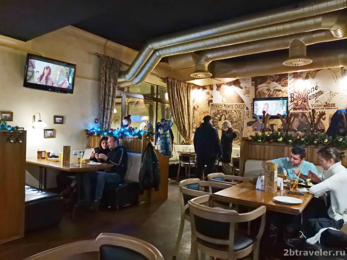 Тетка ресторан Калининград